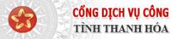 Cổng dịch vụ công tỉnh Thanh Hóa
