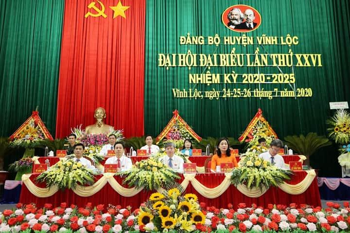 Đại hội Đại biểu Đảng bộ huyện lần thứ XXVI